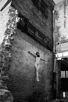 Alley Crucifixion by nolaphoto
