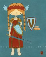 V is for Valkyrie by renton1313