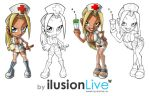 Ilusionlive - Enfermeras - by Ilusionlive
