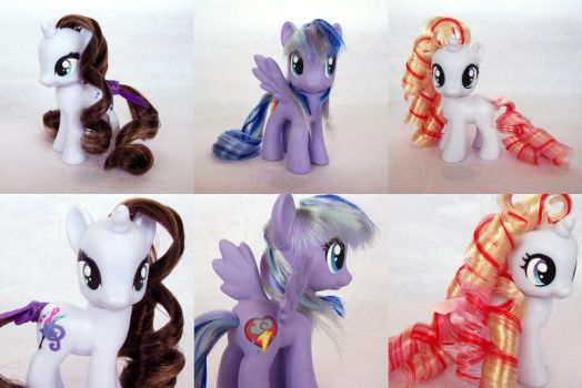 pretty ponies~ by psaply