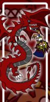 Slifer bookmark by Malindachan