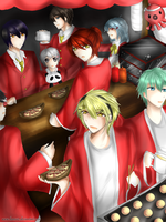 HD Bunkasai: Welcome to our tako stand~ by hamu2