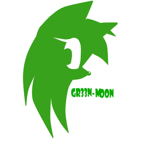 Gr33n-moon logo by Magical-Bonk