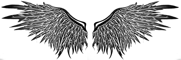 dark angel wings by SwarzezTier