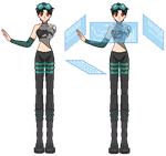 Halloween Project #7 Verdy - Cyber by xavs-pixels
