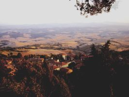 Summer in Tuscany by PixieDrunk