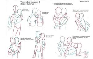 Body's tutorial 4, couples by Calizaa