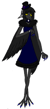 Monster High OC: Nevar Moore. by VictorianMycomancer