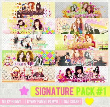 51. Signature Pack #1 by B-Weenie