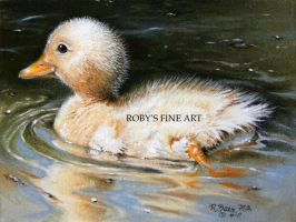 """Duckling"" - Realism by robybaer"