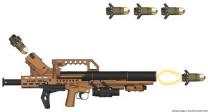 PMG Rocket Launcher by MisterBucklesworth