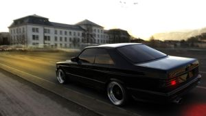 Mercedes 560 SEC AMG by rulerz96