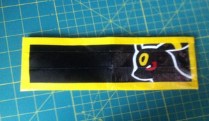 Duct Tape Wallet : Umbreon by areica