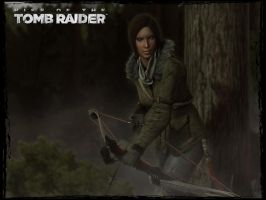 Rise Of The Tomb Raider: Hunting by Irishhips