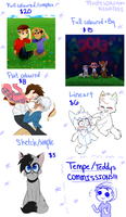 Commission Info by TempesDream
