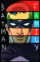 Batman Family by crow110696