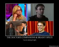 Companions + Brainy Specs MP by RoseBadWolfTyler