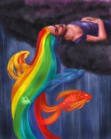 Rainbow Fish by MallettePagano1