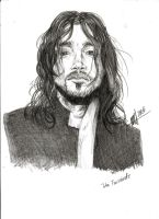 John Frusciante by Asprine