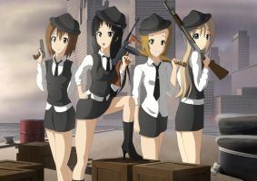 K-ON Mafia by xZDisturbedZx