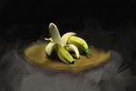 Banana still life by Fakepivot