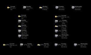 SimpleWeather-Update by vonSmallhausen