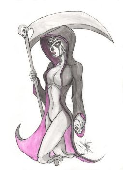 LadyGhostReaper by CJRogue