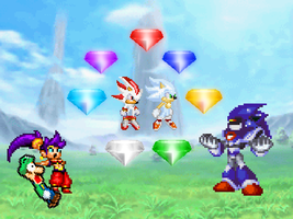 What is this?! Super Emeralds?! by alvarobmk123