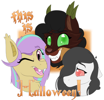 -COMM- Spooky Scary Monster Ponies by MelchiorFlyer