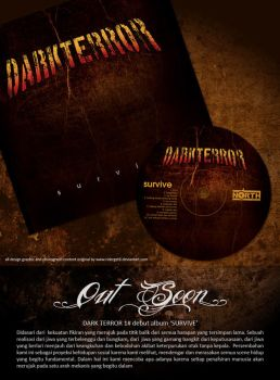 DARK TERROR CD ALBUM des by riderget6