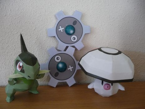 5th generation papercrafts by dodoman75