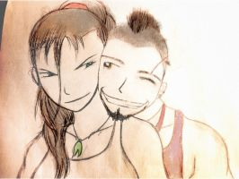 Vaas Montenegro and Anna Earnhardt by RandyDrawings