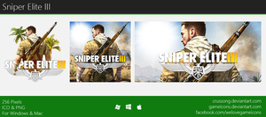 Sniper Elite III - Icon by Crussong