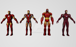 Iron Man Collection by Pitermaksimoff