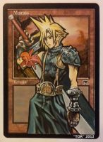 Cloud Strife, from Final Fantasy and Kingdom Heart by Toriy-Alters