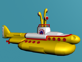 The Beatles - Yellow Submarine by YanamationPictures
