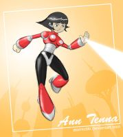 Ann Tenna saving the Day by AtomicTiki