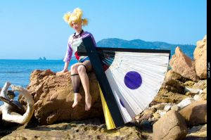 Sand background 1 ~ Temari Cosplay by Temari-ore-no-yume