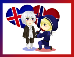 [Hetalia] BE ONE WITH BROTHER NORWAY, JA? by SnowLicht