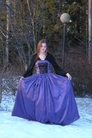 Violet - Curtsey by Eirian-stock