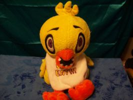 Chica plush by PollyRockets