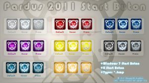 Pardus 2011 Start Buton by enables