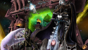 Scourge Invade Outland by TheMadcapper