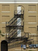 fire stairs by NiVosta