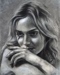 actress in graphite by ADRIANSportraits