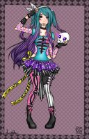 Skeleton Queen by animeprincess25