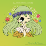 Coloured Daisy. Lady of Spring. by MissTargaryen