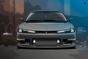 Vektor Nissan 200sx s14a-edcgraphics by edcgraphic