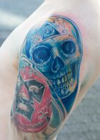Calavera tattoo... by graynd