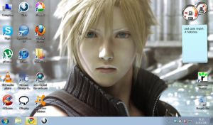 Cloud Strife - Advent Children by Elmara